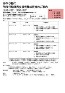 強度行動障害支援者養成チラシ(修正版)2019.6分のサムネイル
